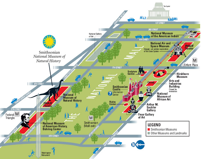 National Mall Map Pictures To Pin On Pinterest