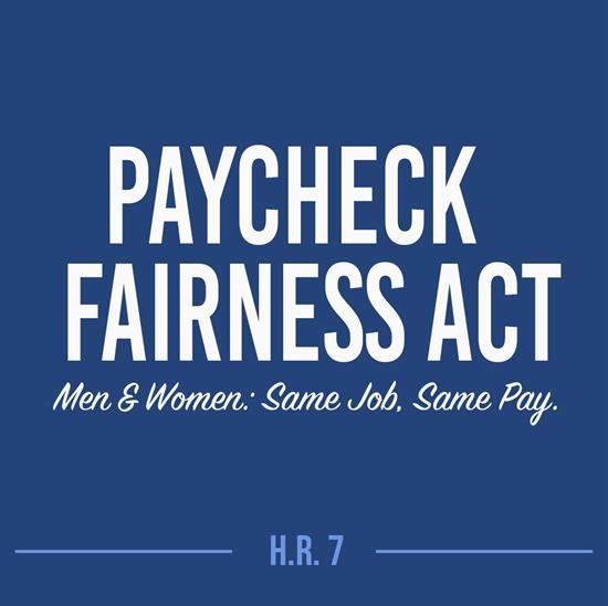 U S  House Passes Paycheck Fairness Act, Cosponsor Rep  Castor